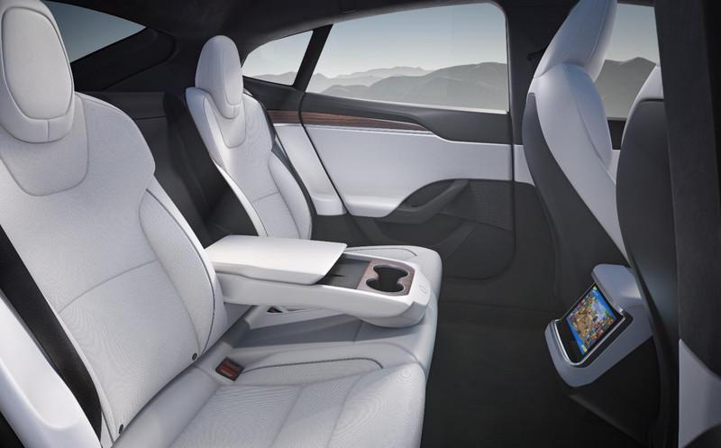 Model S Second Row