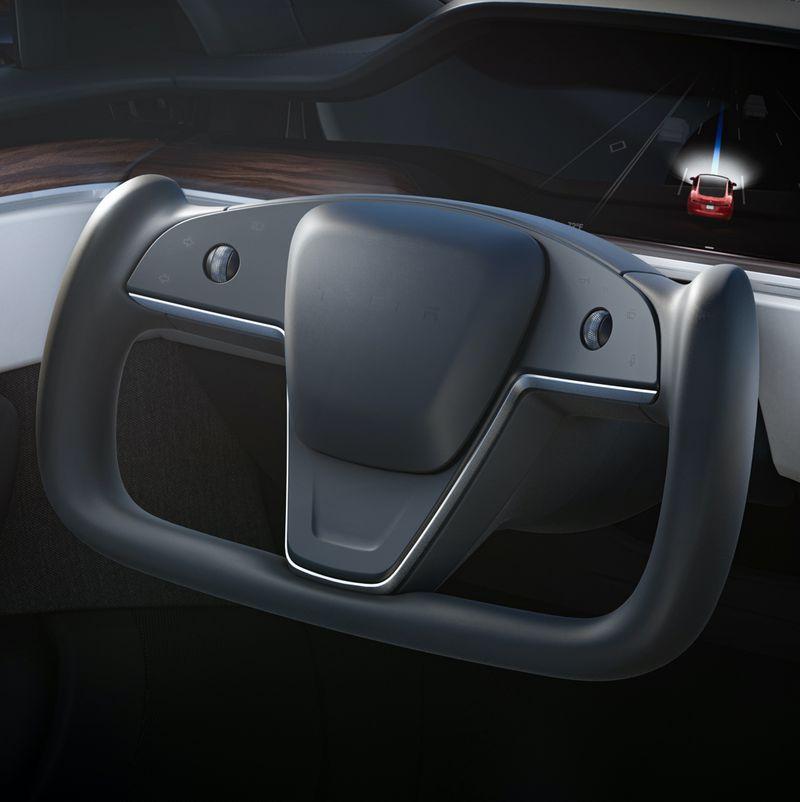 Model S Steering Wheel