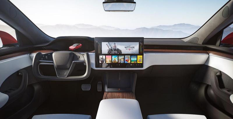 Tesla Model S Dashboard Screen