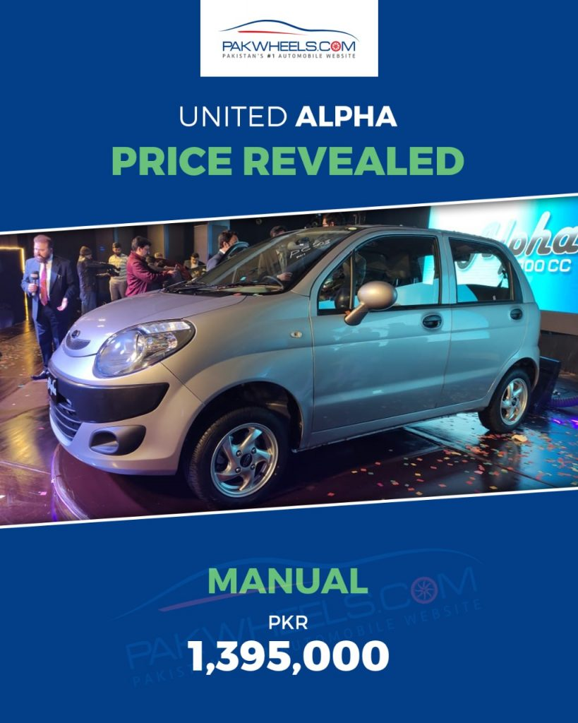Alpha Price Revealed