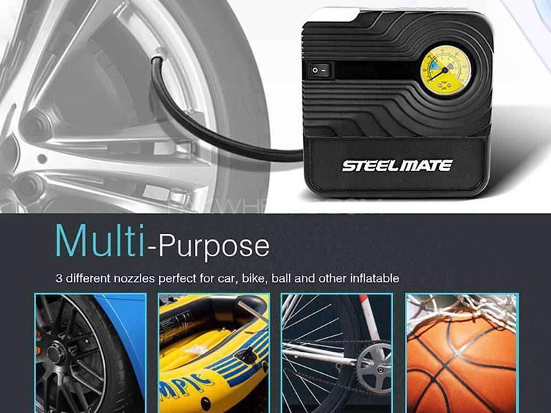 Steel Mate Car Air Compressor