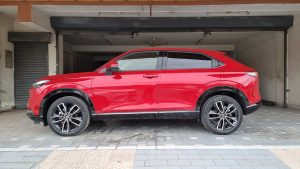 Honda Vezel 2021 Side Profile
